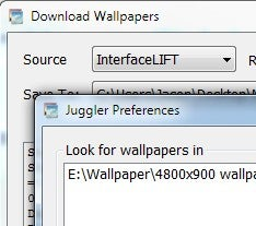 Wallpaper Juggler Downloads and Rotates Fresh Wallpaper