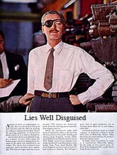 Lies Well Disguised: The Axe Effect