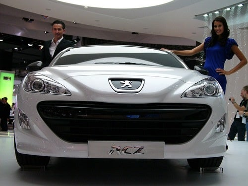 Peugeot RCZ: Live Photos