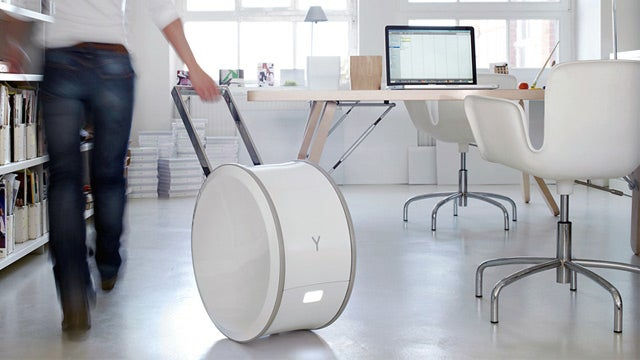 This White Wheel Can (Unfortunately?) Make Any Room Your Office