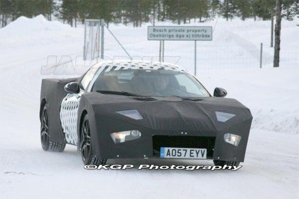 2010 Lotus Eagle 2+2 Has Landed, Looks Like Batman