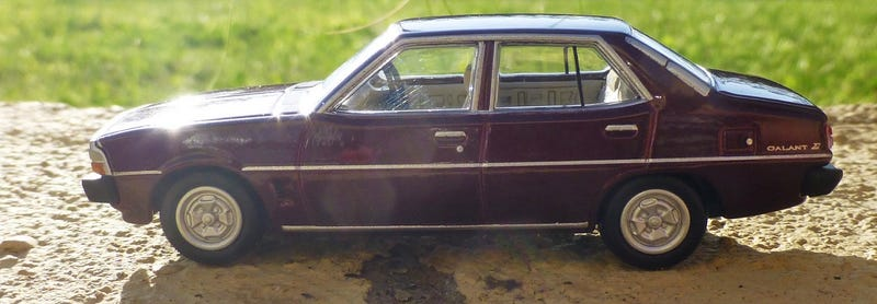 1976 Mitsubishi Galant Sigma by Tomica, The Oppo Diecast Review