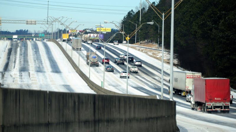 Local Meteorologist Explains How Two Inches Of Snow Shut Down Atlanta