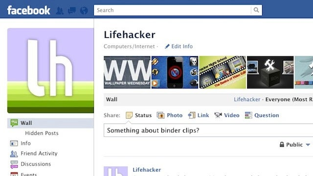 Like Lifehacker and Our Writers on Facebook for Productivity Tips and Tricks in Your News Feed