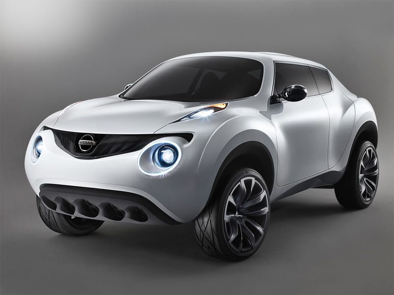 Nissan Qazana Concept: What If Apple Designed A Beach Buggy