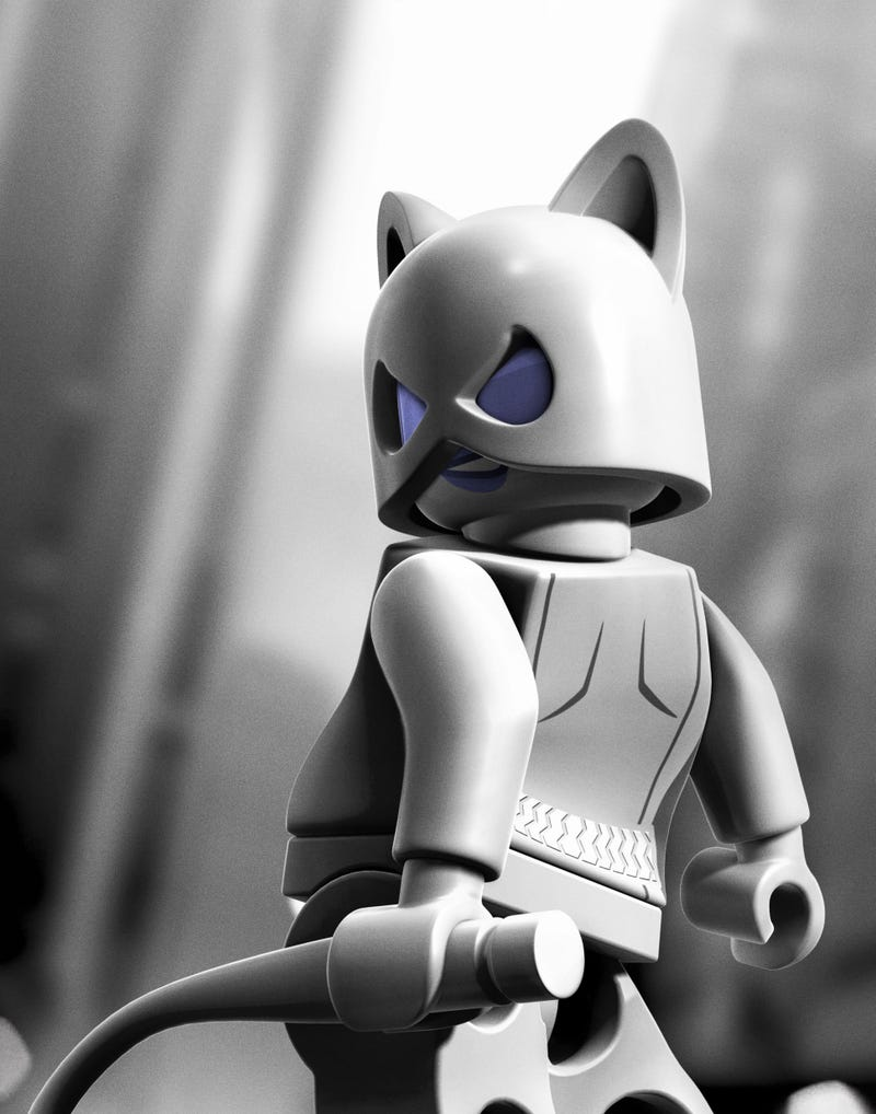 If Lego Batman 2 Happened in Arkham City, It Would Look Like This