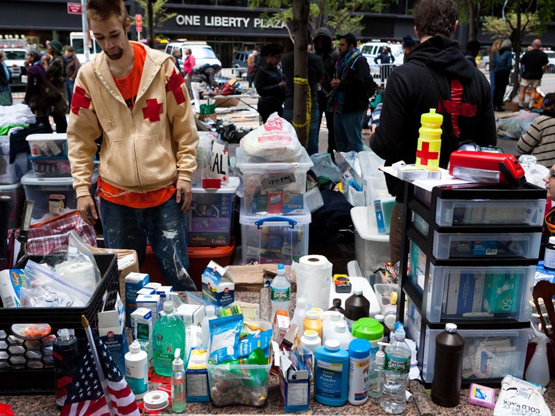 Does Occupy Wall Street Have a Drug Problem?