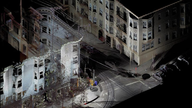 The Beautiful, Precise Images of Buildings That 3D Scanning Enables