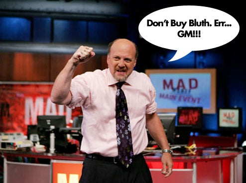 Jim Cramer: GM Screwed, Is The Citigroup Of Automakers