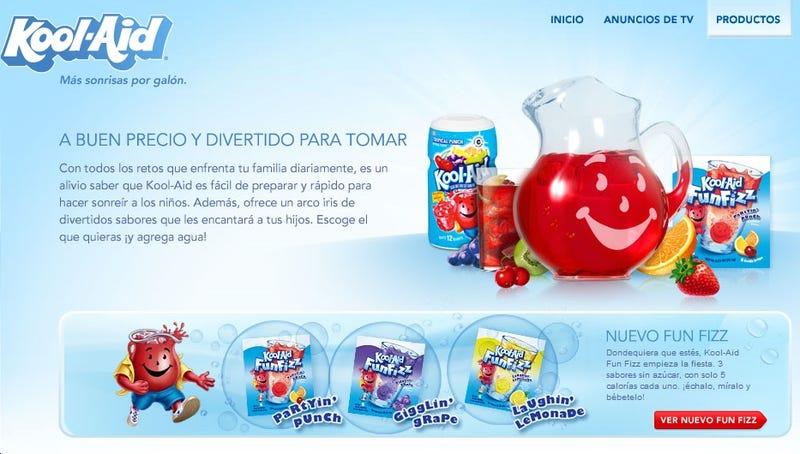 Kool Aid Wants Hispanic People Drinking Nothing But Kool Aid