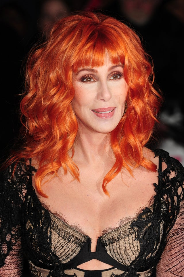 Cher's Flaming Hair & Dress Up To There