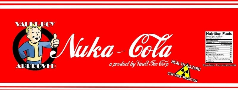 Nuka Cola Recipe Omits Rads
