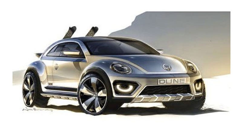 Beetle Dune Concept Is The Baja Bug For A Modern Man