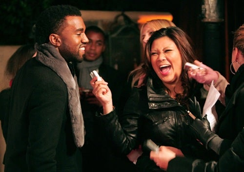 Kanye Turns On The Charm