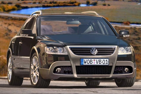 Allroad Fools Day? Volkswagen's Alleged Cross Phaeton
