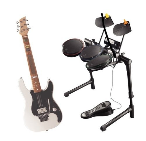 Logitech's New Wii Drums and Guitar Ignore Recession