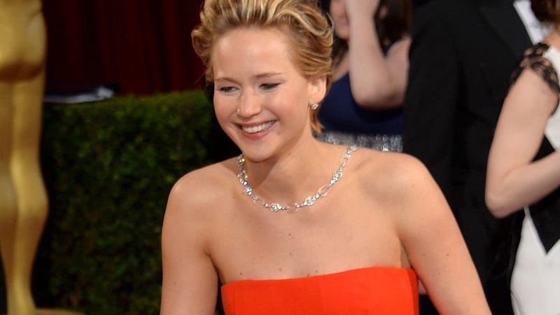 Jennifer Lawrence Drunkenly Barfed on Madonna's Stairs