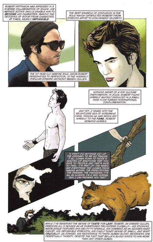 The R-Patz Comic Book Sucks The Hottie Right Out Of Him