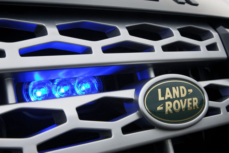 Land Rover Discovery 4 Armoured: Photos