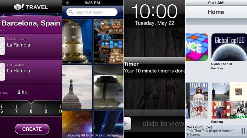 Yahoo Time Traveler, Music Unlimited, and More