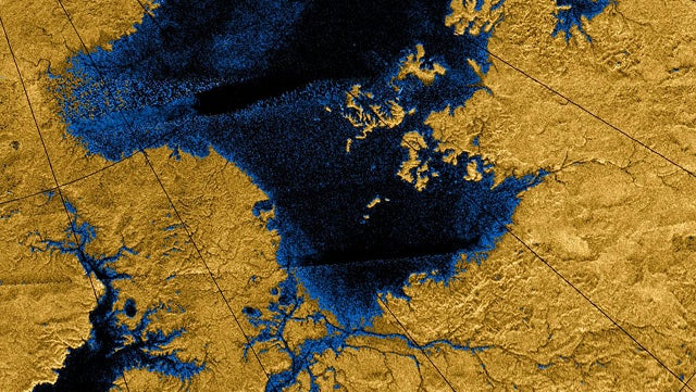 What strange geological processes created Titan's oddly smooth surface?