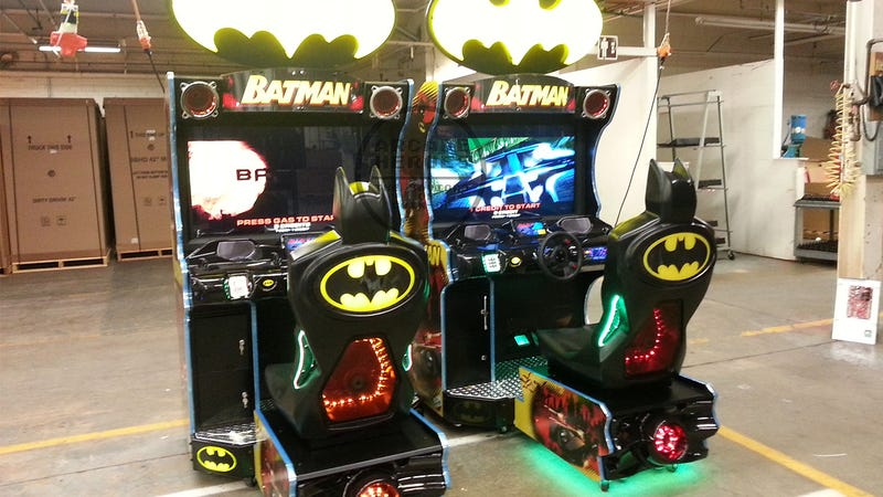Incredible Arcade Sim Will Let You Drive Every Batmobile