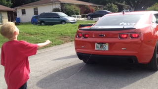 Florida Man Pulls His Kid's Loose Tooth With A Camaro SS