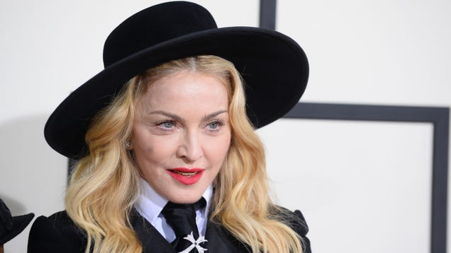 Madonna Is Confused About the Restrictions on Nipples