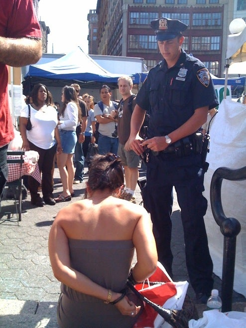 Woman Arrested For Water Gun Fight In Union Square