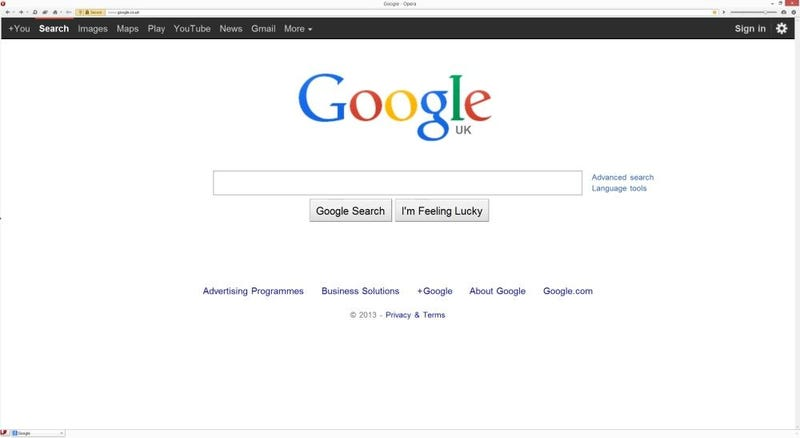 If You Use an Old Browser, Google Searches For You Like It's 2011