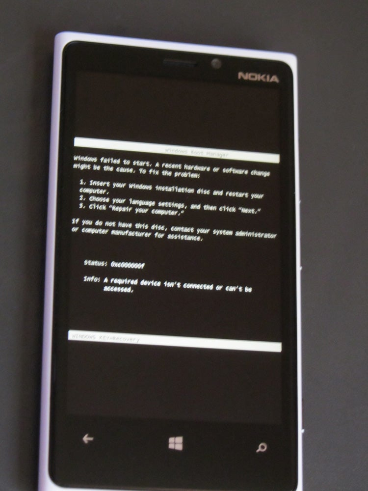 Windows Phone 8 Has The Funniest Error Ever
