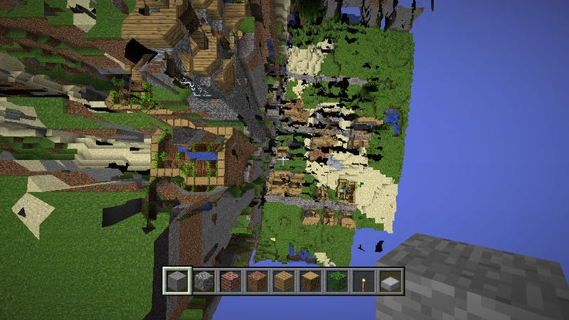 A Man Has Spent Three Years Trying To Walk To The End Of Minecraft