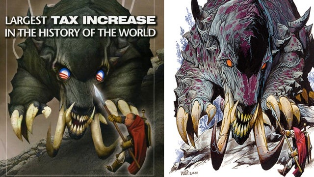 Rush Limbaugh's newsletter rips off the Dungeons & Dragons Monster Manual