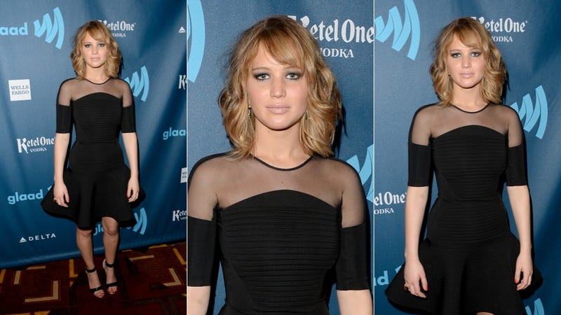 Campy Fashion & Visible Nipples at the GLAAD Media Awards