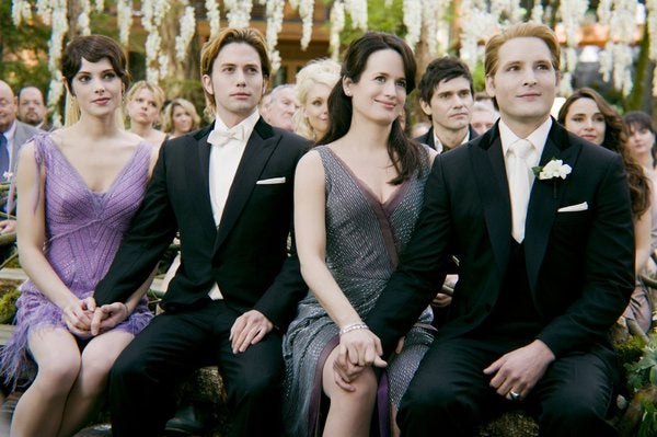 In Twilight: Breaking Dawn, Bella becomes a supernatural version of Octomom