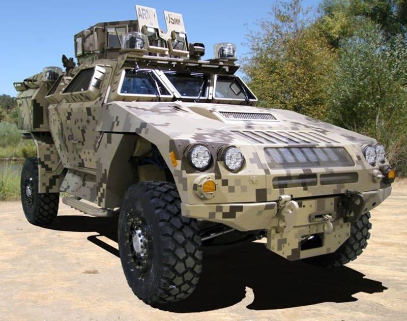 BAE Systems M-ATV Testing For Afghan Deployment