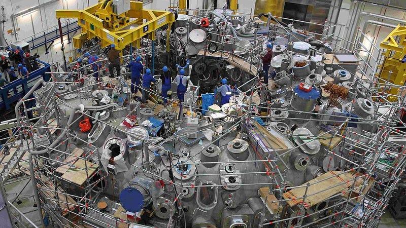 Alemania enciende por primera vez su reactor de fusión experimental de tipo Stellarator