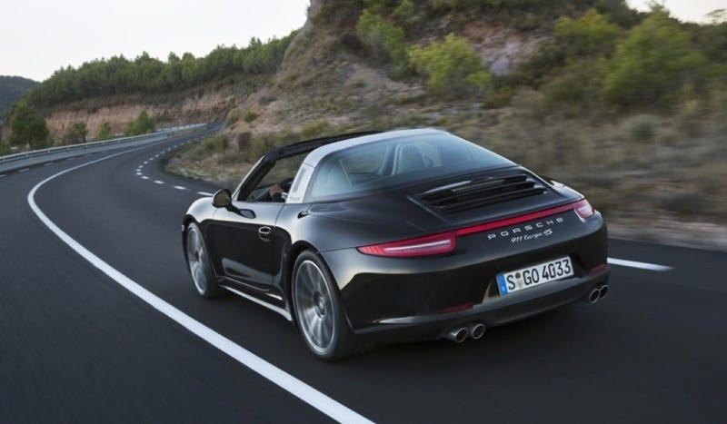 2014 Porsche 911 Targa: The Hoop Is Back