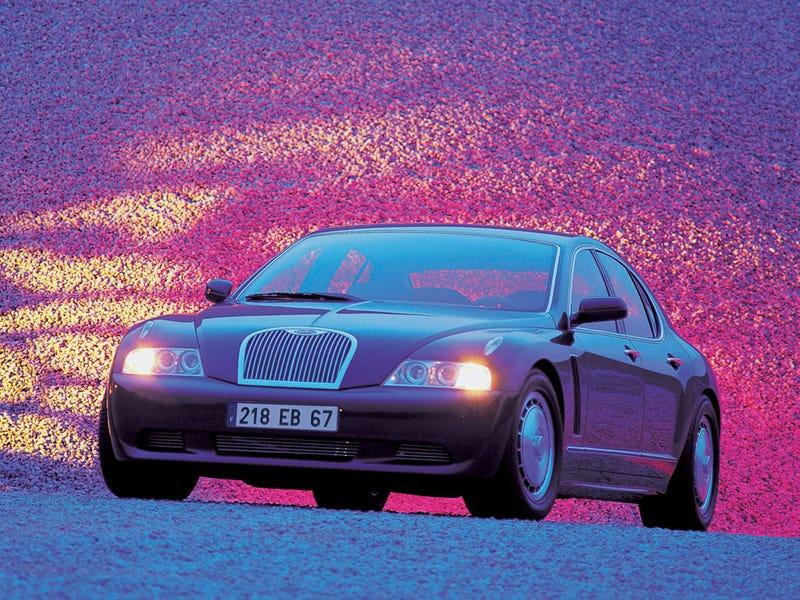 Cars That The Time Forgot: Bugatti EB218