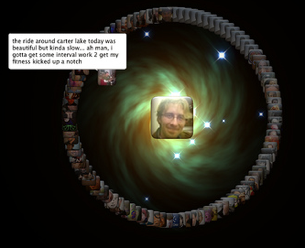 Twitterverse Screensaver Visualizes Your Twitter Activity