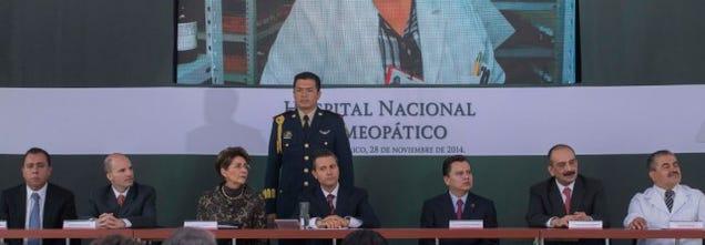México inaugura con fondos públicos un Hospital Nacional Homeopático
