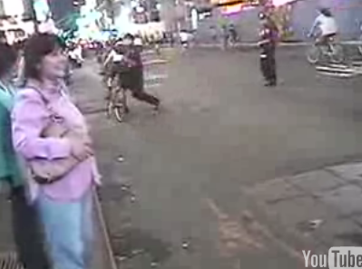 YouTube Bike-Shove Cop Indicted