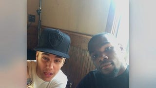 Dammit, Justin Bieber, Stay The Hell Away From Kevin Durant