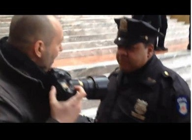 New York Times Photographer Claims He Received NYPD Beat Down Last Night While Doing His Job