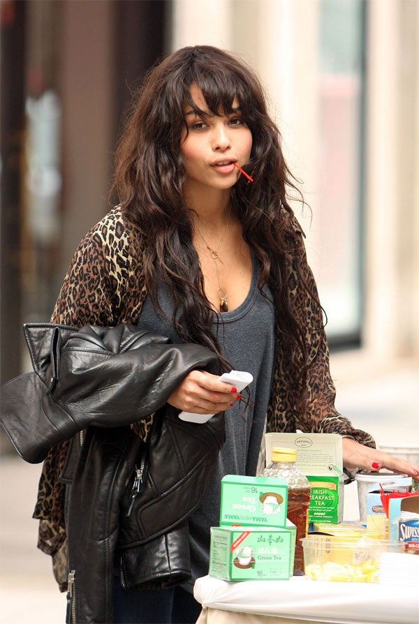 Zoe Kravitz: Manhattan Morning, Irish Breakfast