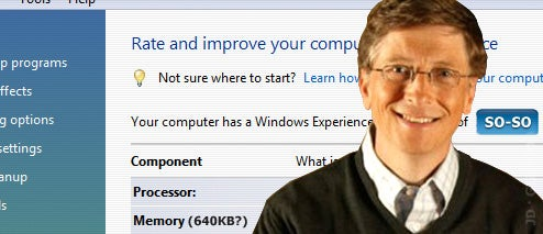 If Your Computer Doesn't Meet Windows 7's Final Minimum System Requirements, I Feel Bad for You