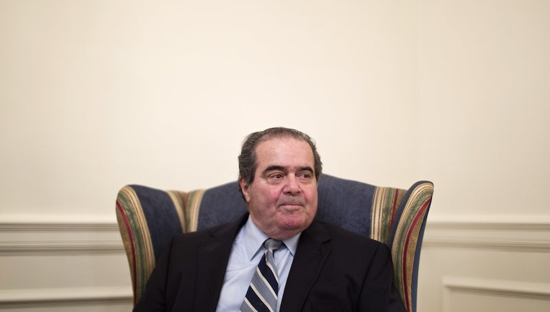 Antonin Scalia Took Hundreds of Free Vacations Paid For By God Only Knows Who
