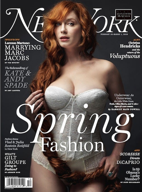 Christina Hendricks Is Bored With Body Talk
