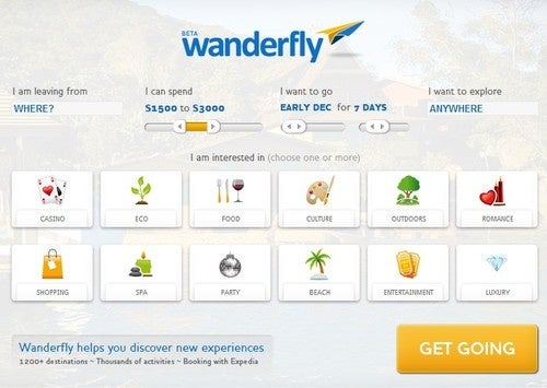 Wanderfly Aggregates Dozens of Travel Tools into a Single Dashboard
