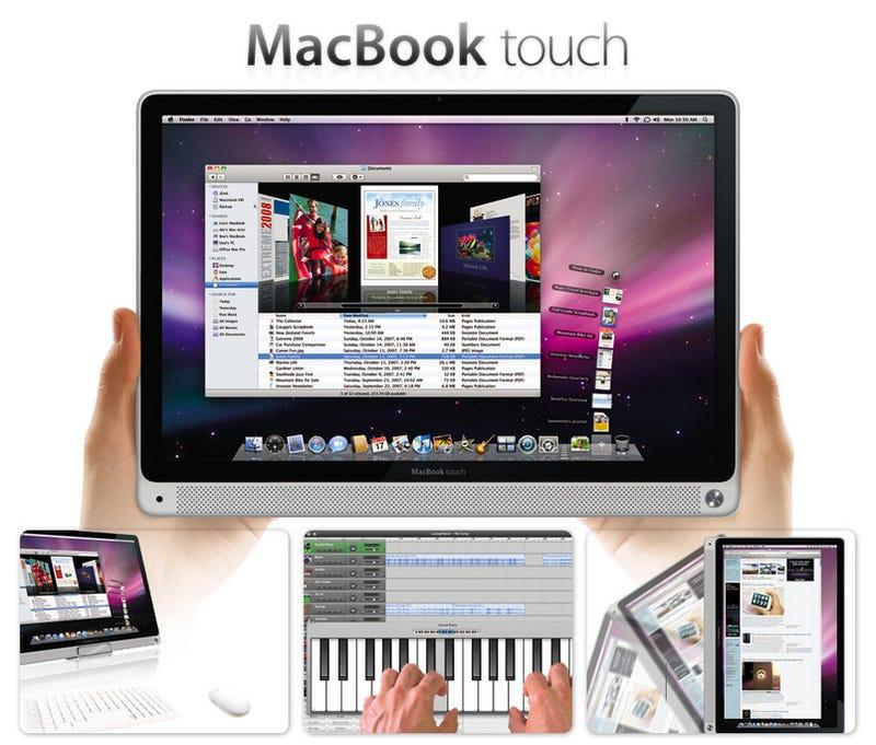Rumor: MacBook touch Coming in October